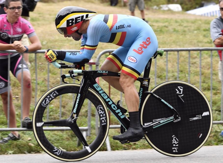 Victor Campenaerts tenterà il record dell'ora