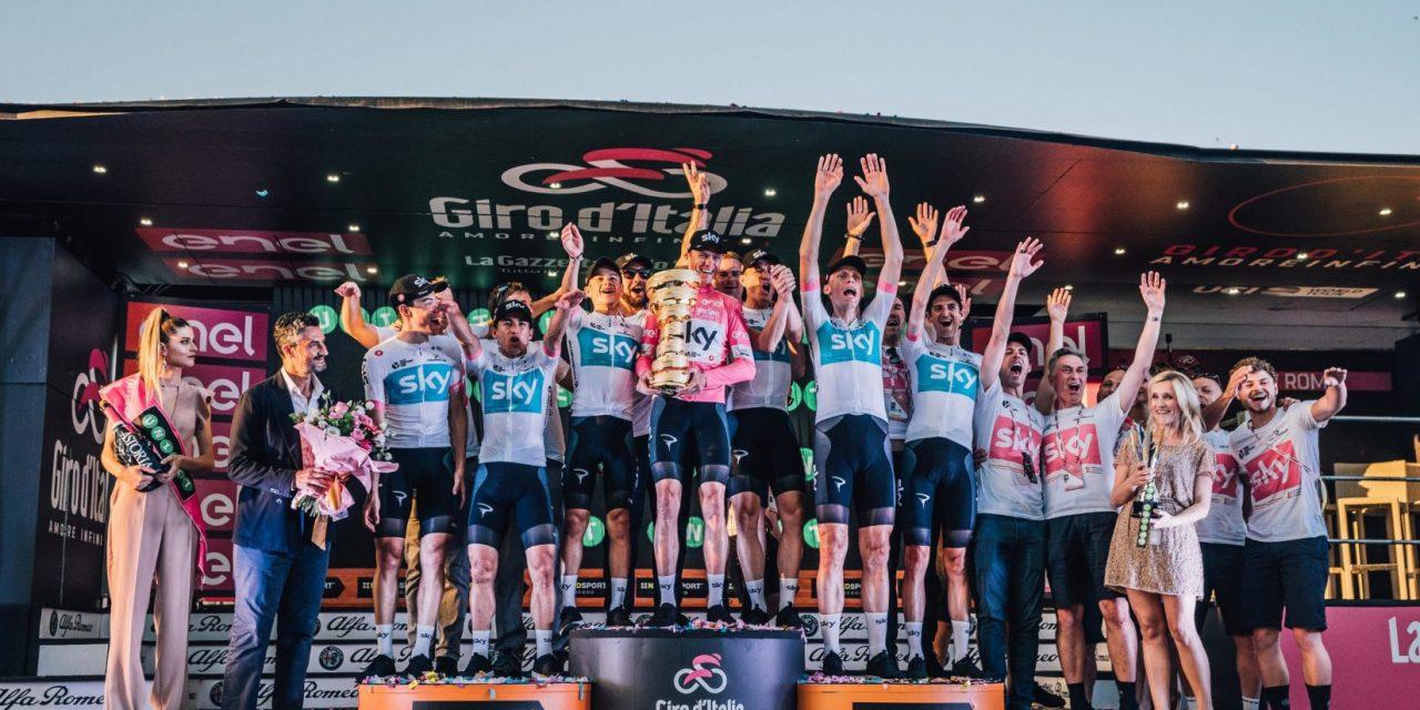 Ciclismo, Sky, annuncio choc: