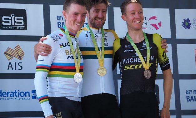 Luke Durbdridge campione nazionale a cronometro