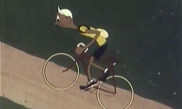 Un video pubblicitario del ciclismo che fu