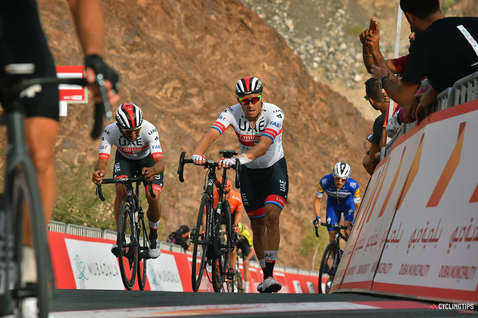 Alexander Kristoff tamponato all'UAE Tour
