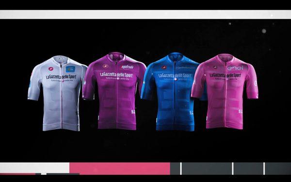 Giro d'Italia 2019, svelate le nuove maglie