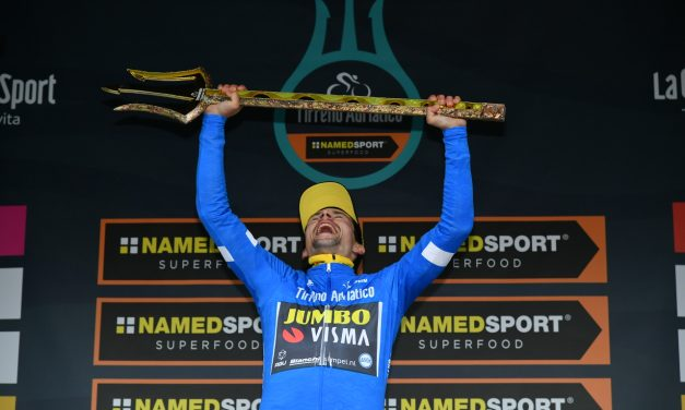 Tirreno-Adriatico: Primoz Roglic vince per 31 centesimi di secondo su Yates