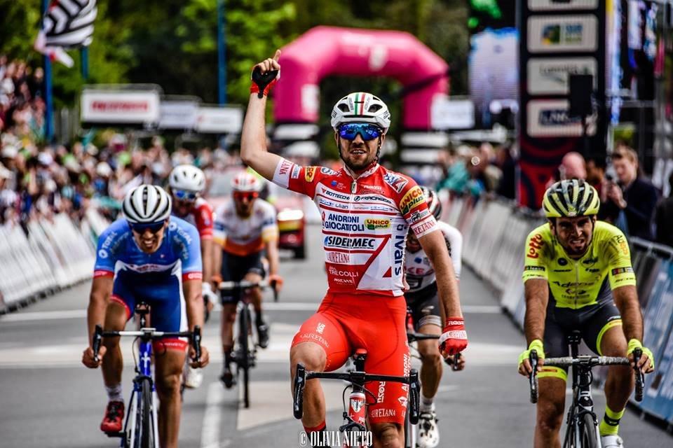 Vittoria di Andrea Vendrame alla Tro Bro Leon