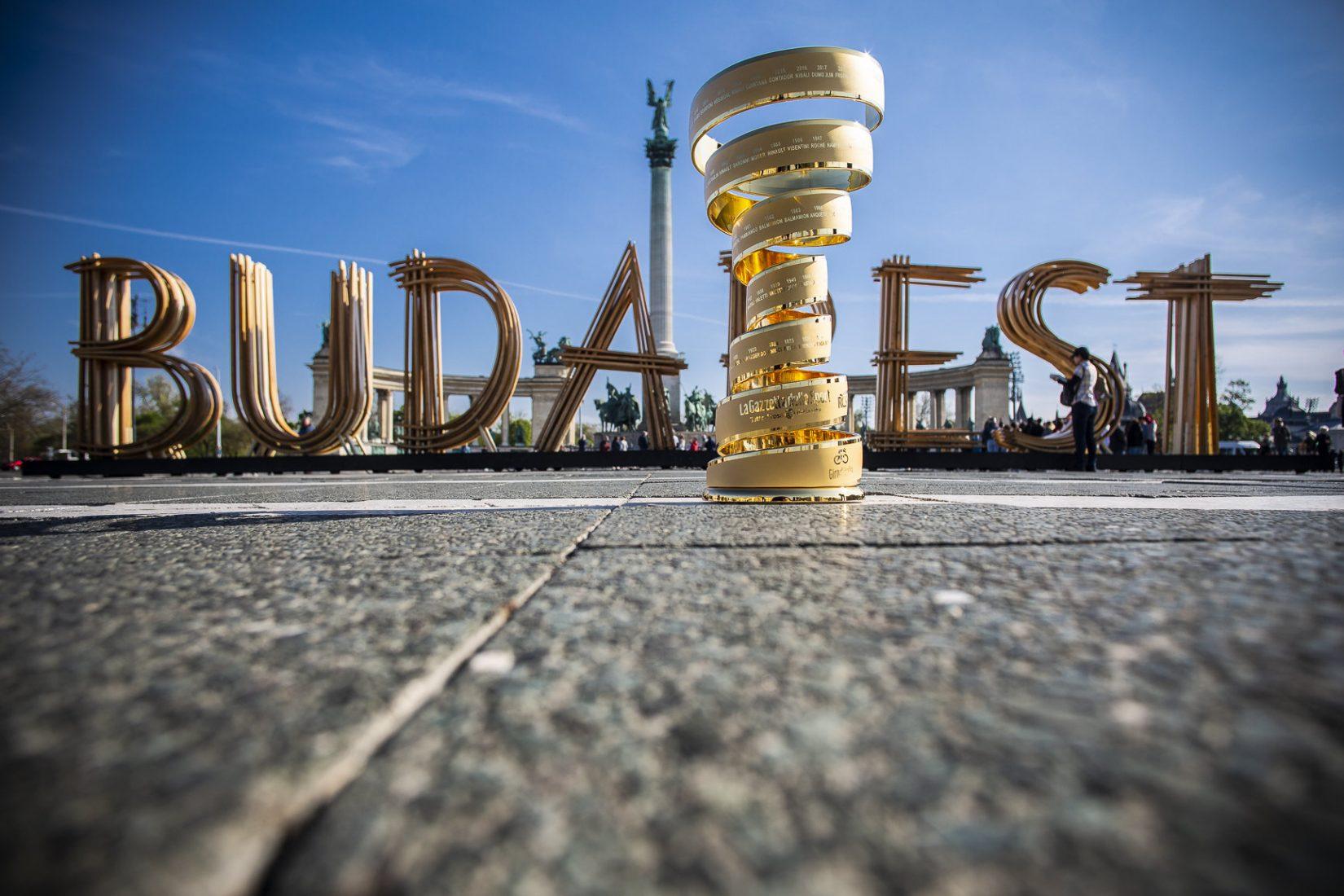 Il Giro d'Italia 2020 partirà dall'Ungheria