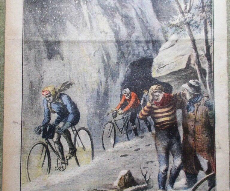 La corsa più dura: Milano-Sanremo 1910