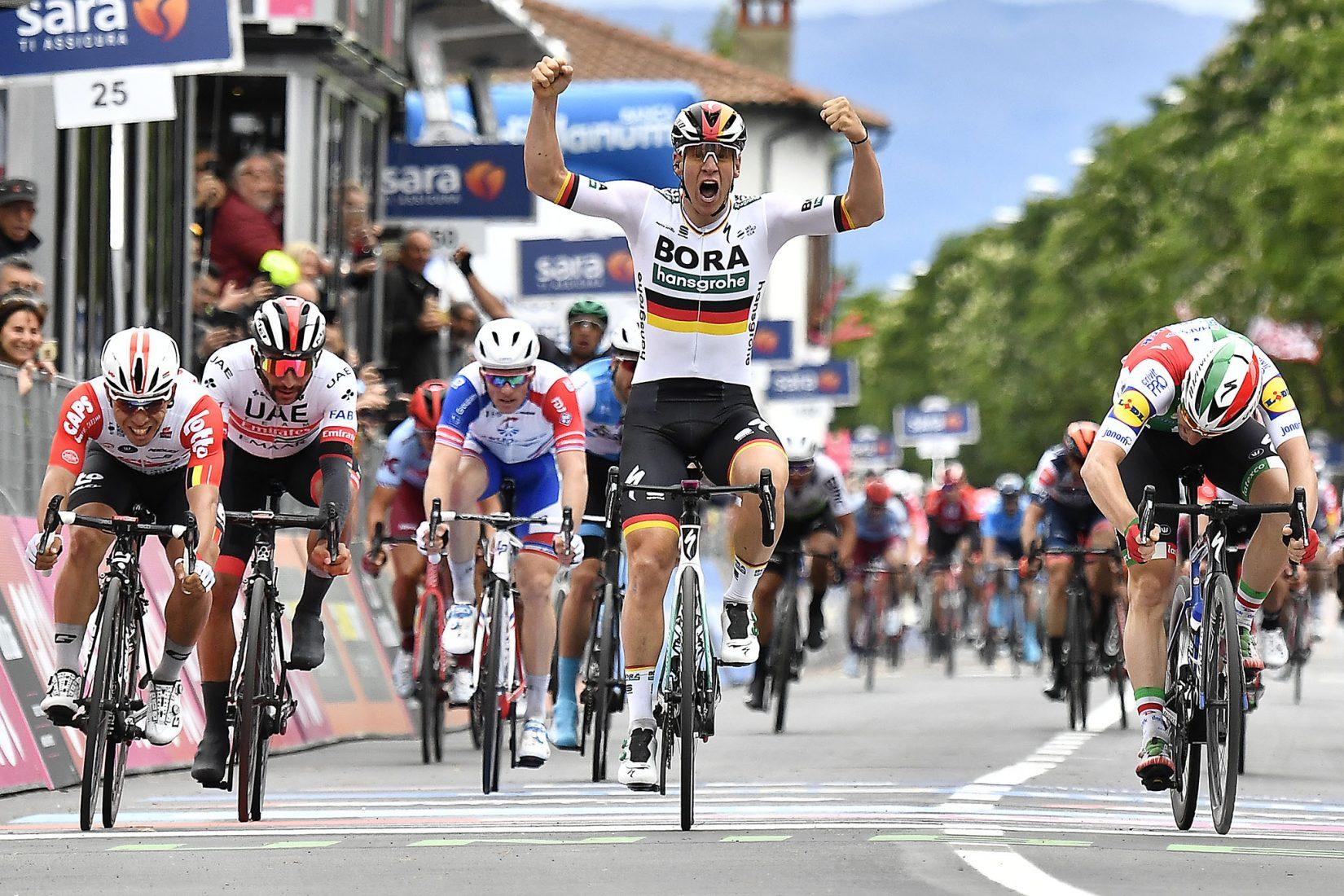 Giro 2019: Ackermann, l'emozione della prima volta