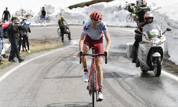 Giro 2019: Zakarin in Gran Paradiso
