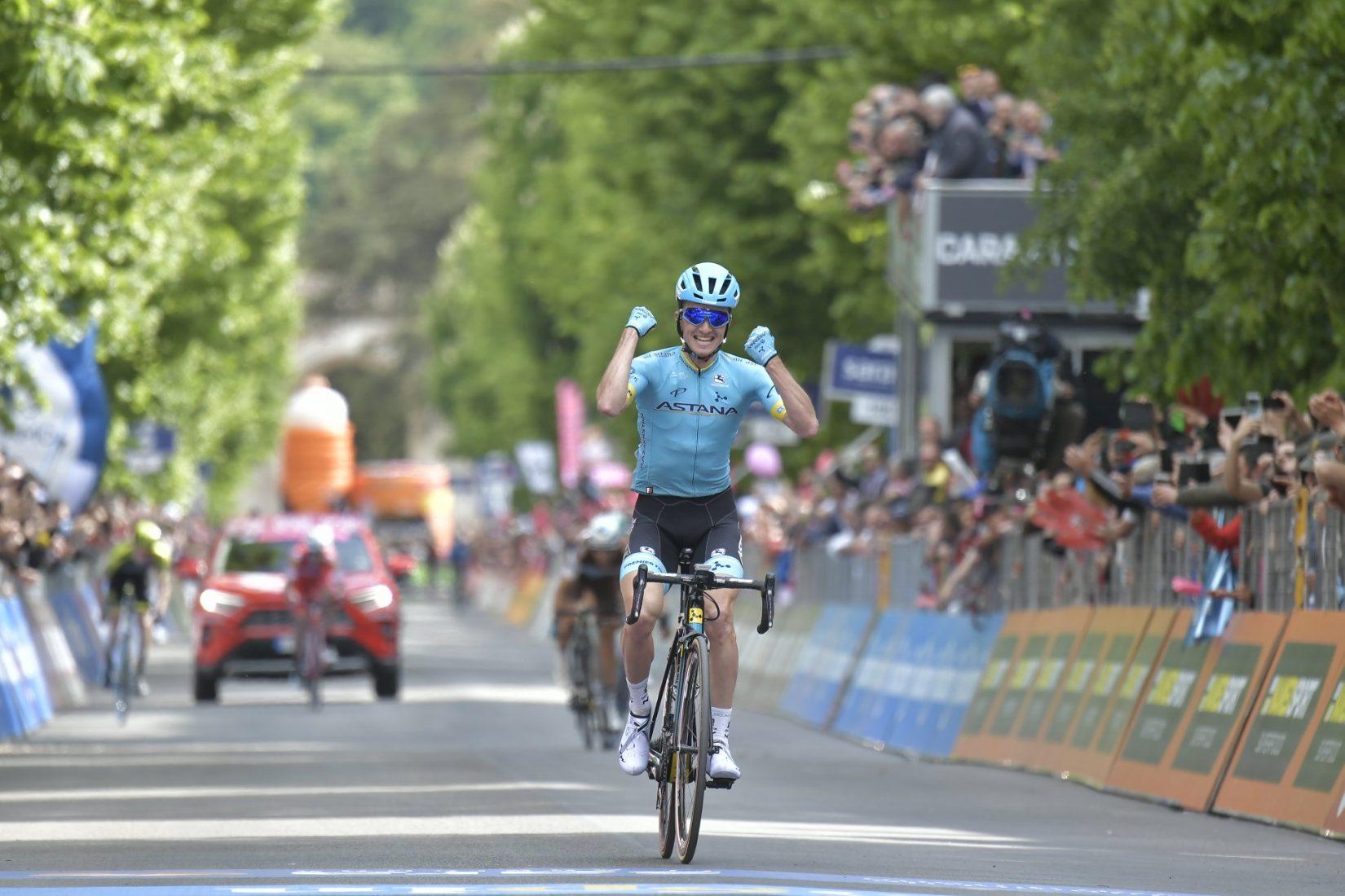 Giro 2019: Pello Bilbao in solitaria