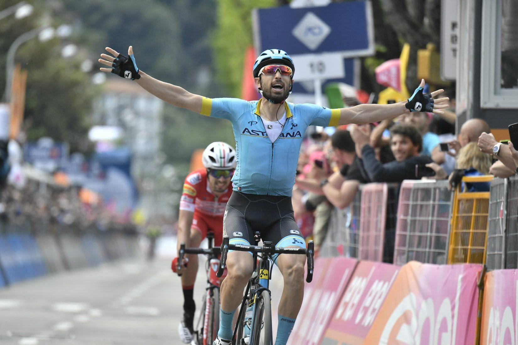 Giro 2019: Cataldo, fuga per la vittoria. Carapaz sempre più Rosa