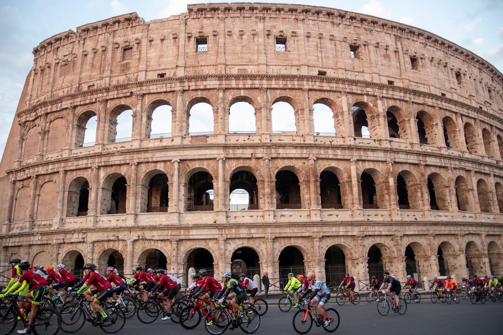 Abbiamo provato il percorso della Granfondo Campagnolo Roma del 13 ottobre