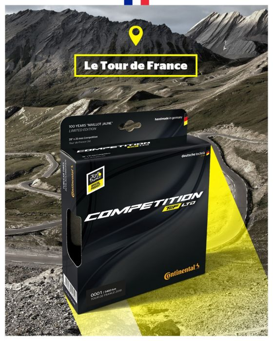 Continental lancia i tubolari Competition TdF LTD 2019