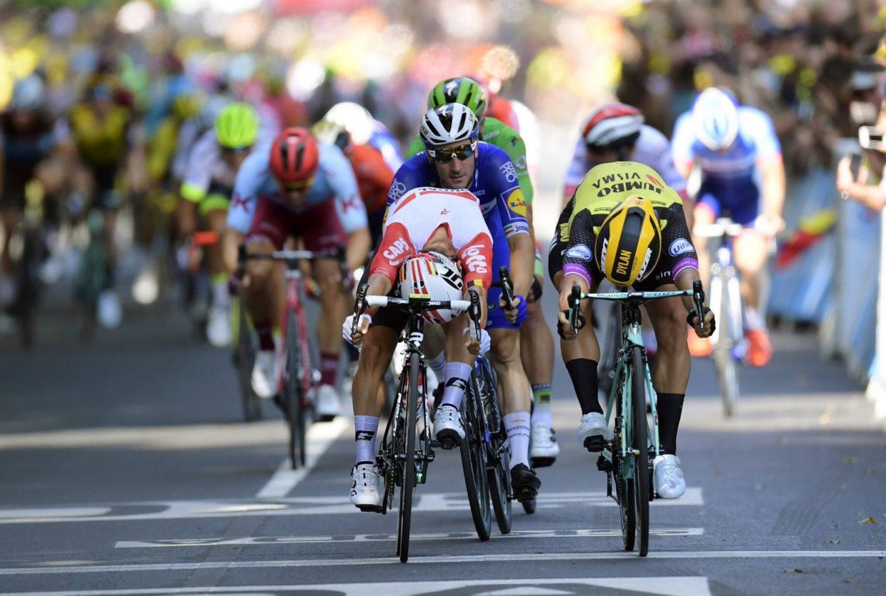 Prima vittoria per Ewan al Tour de France, Ciccone sfortunato