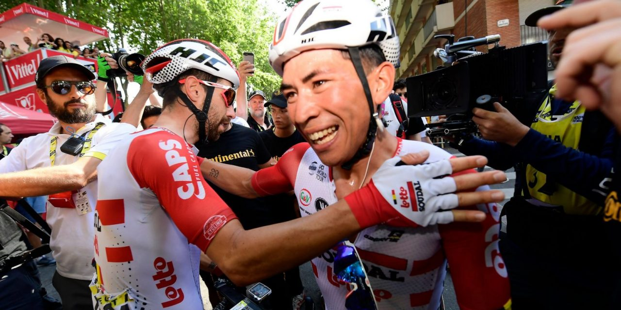 Tour de France: volata a Caleb Ewan, Alaphilippe resta in giallo
