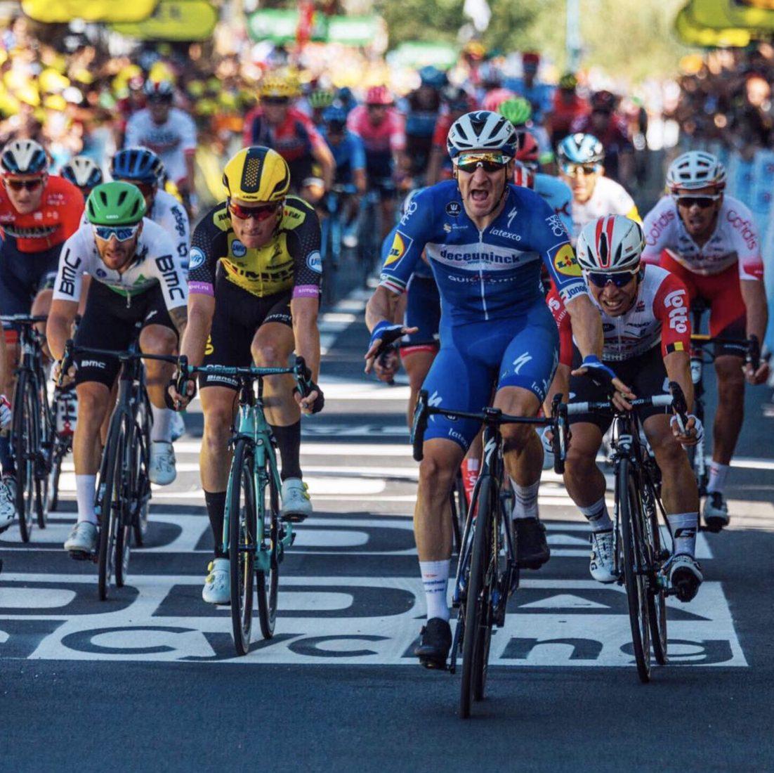 TdF 2019: Viviani si impone allo sprint nella 4^ tappa