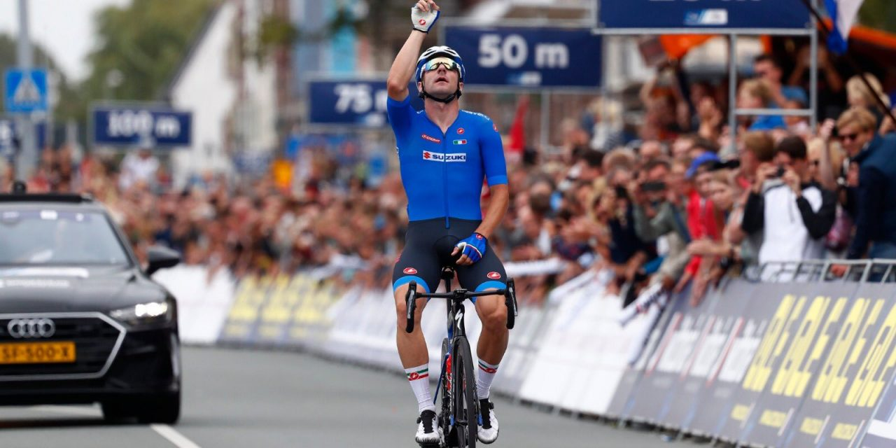 Elia Viviani campione europeo 2019
