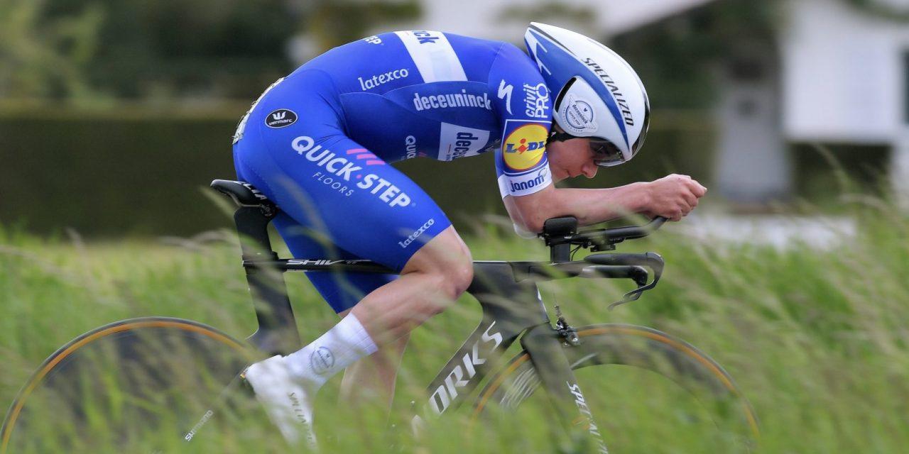 Ciclismo: Europei, Evenepoel vince oro crono, bronzo Affini