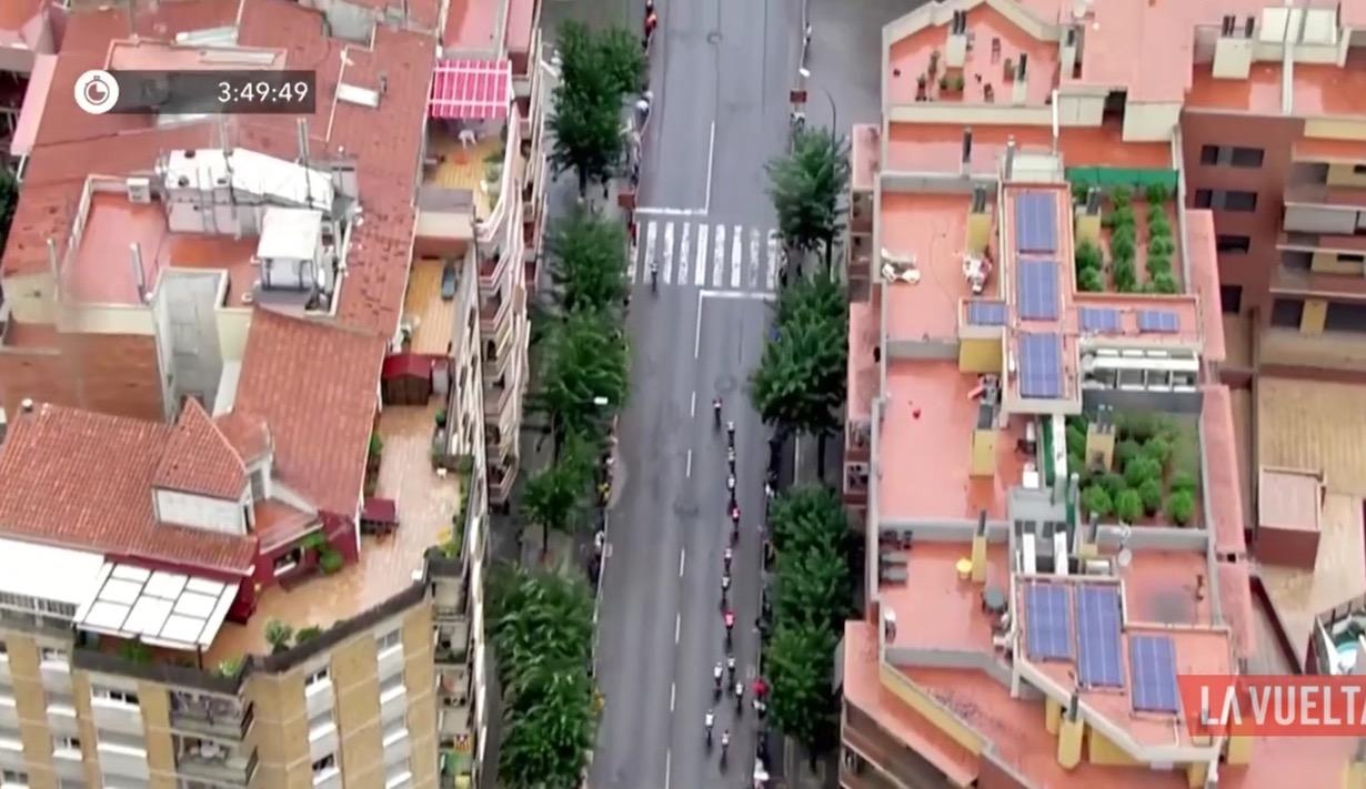 L'utilità degli elicotteri alla Vuelta
