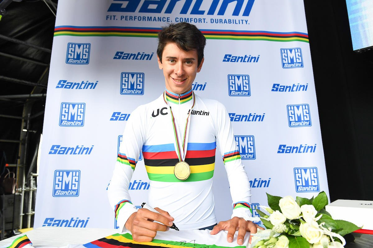 Mondiali 2019: Antonio Tiberi campione a cronometro junior