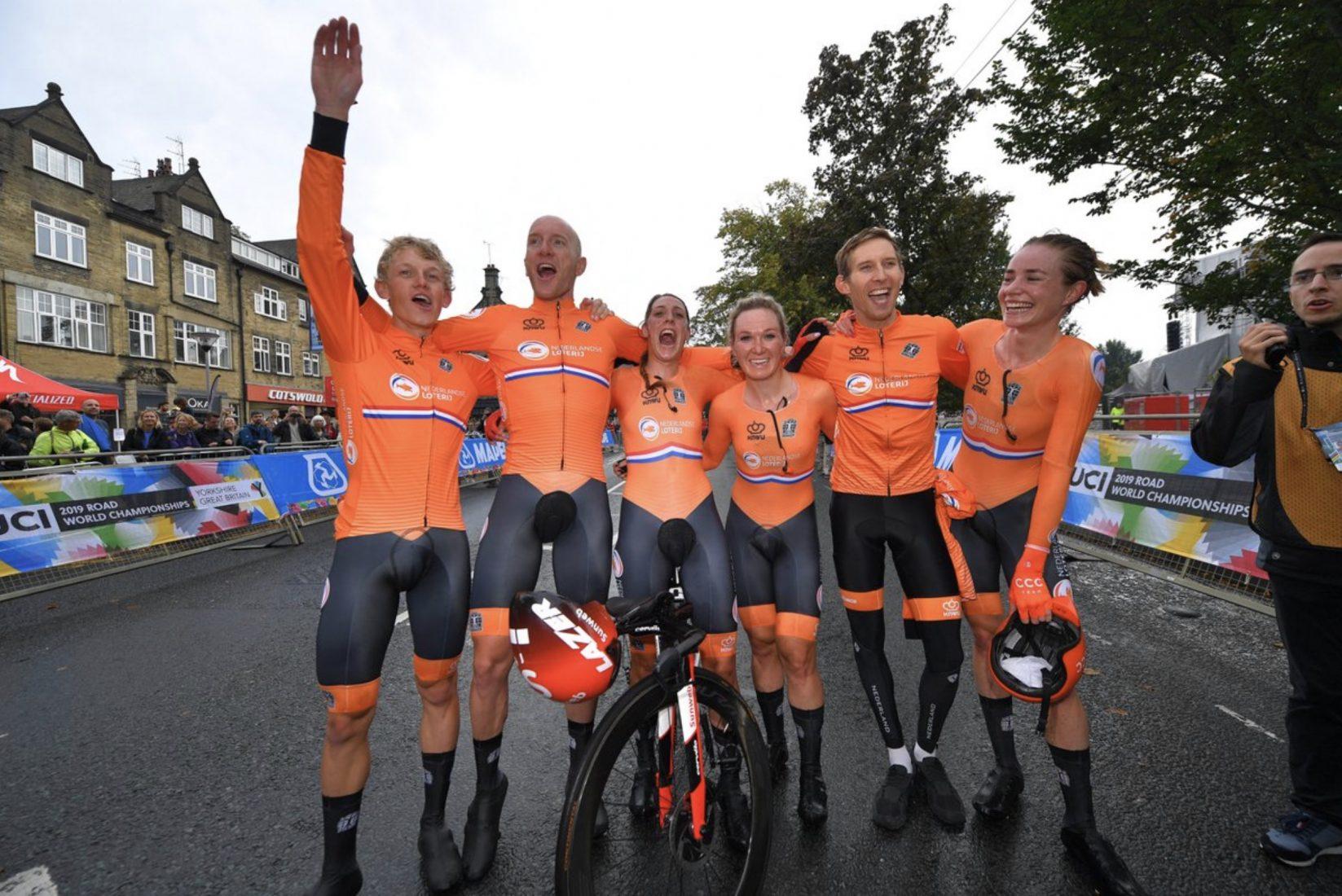 Mondiali 2019: Paesi Bassi campioni del mondo cronometro a staffetta