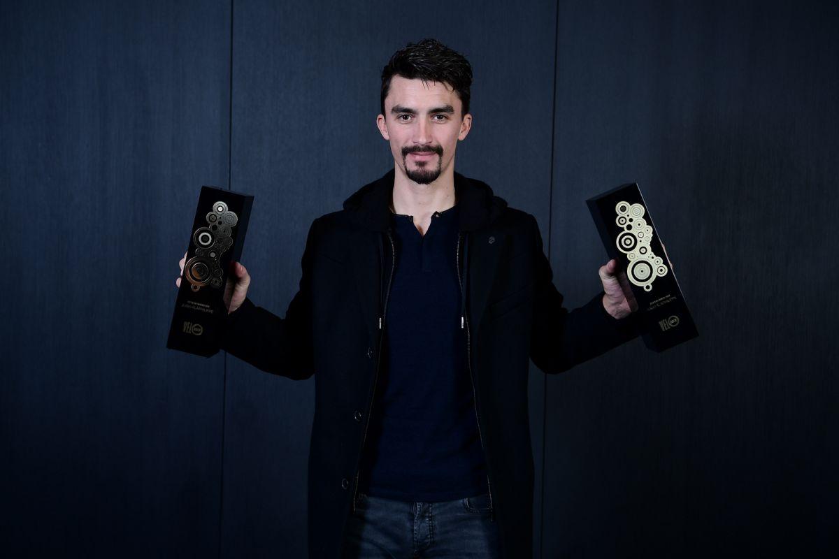 Alaphilippe premiato col Vélo d'or.  I programmi di Bernal
