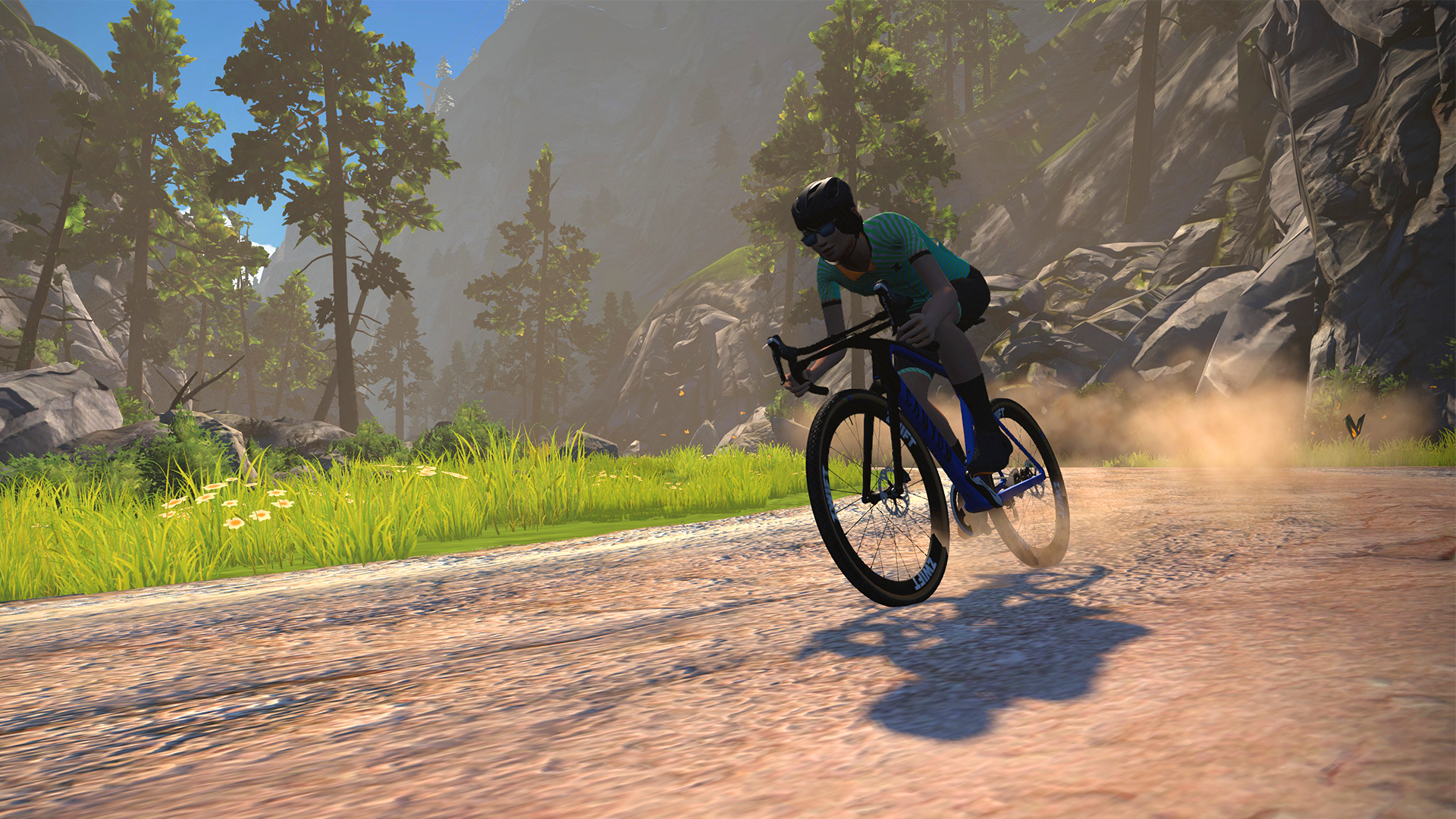 Zwift va in fuoristrada