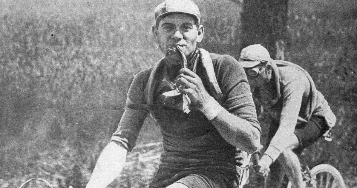 L'alimentazione del ciclista eroico