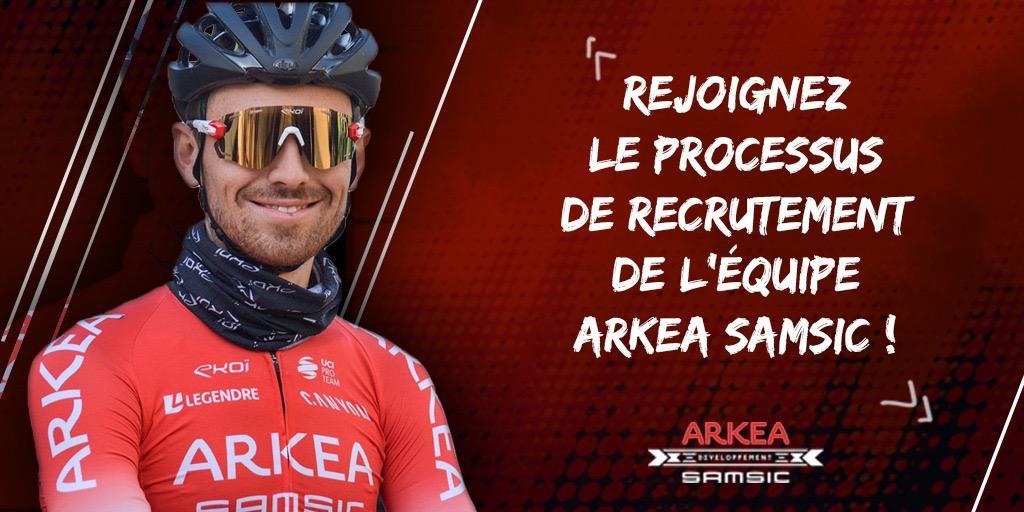 Volete correre per la Arkea-Samsic?