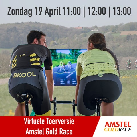 Amstel Gold Race virtuale domenica 19 aprile