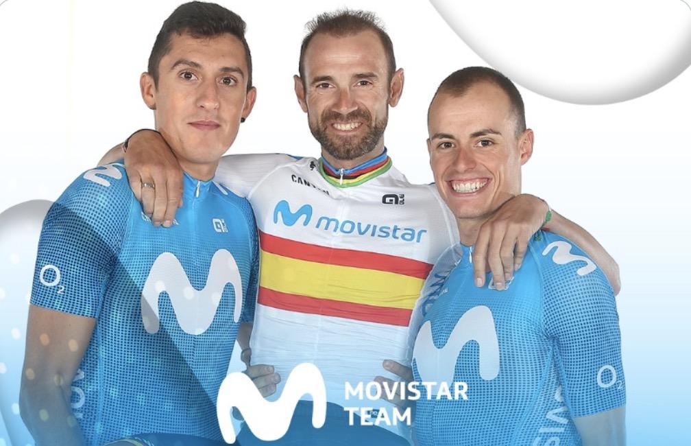 Valverde e Mas capitani della Movistar al Tour e Vuelta