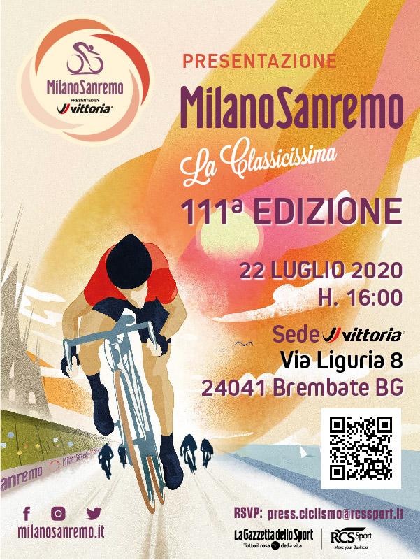 111^ Milano-Sanremo: sabato 8 agosto la prima Classica Monumento del 2020
