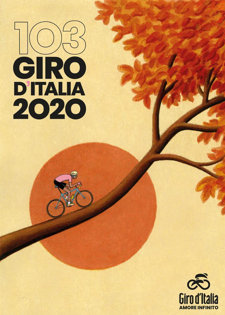 Giro d'Italia 2020: una sigla e un nuovo manifesto per la Corsa Rosa