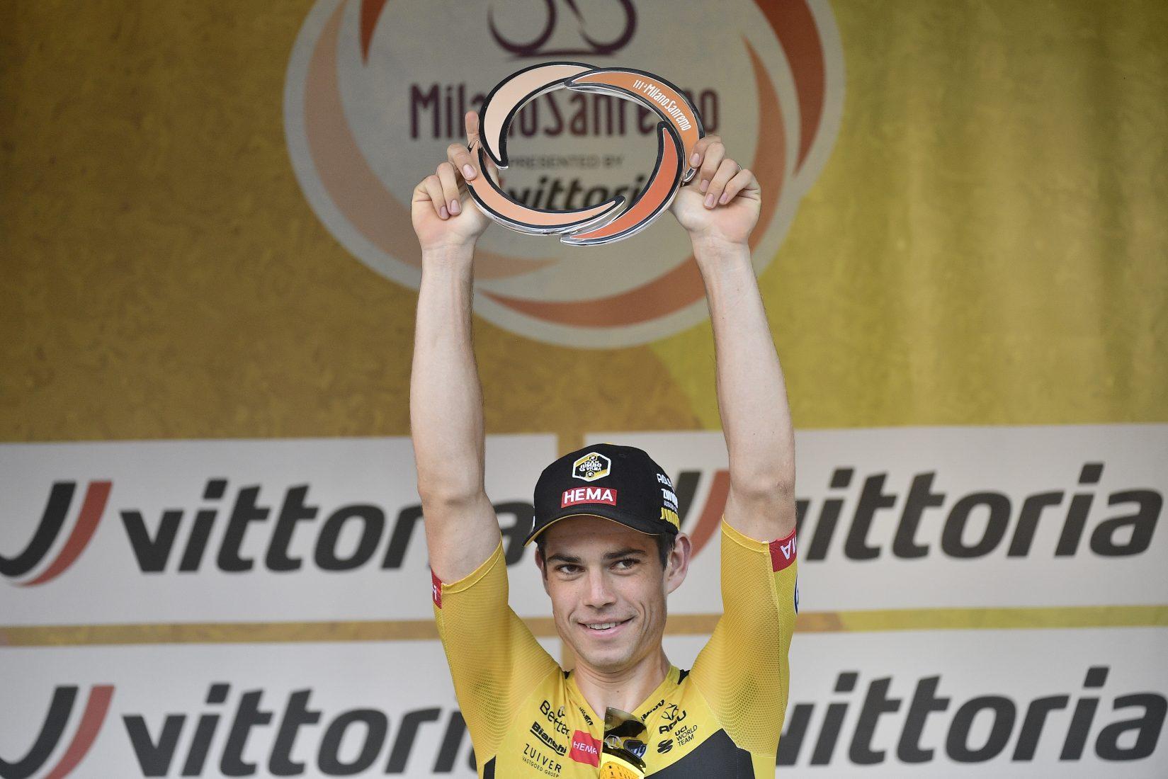 Van Aert ha vinto la 111a Milano-Sanremo