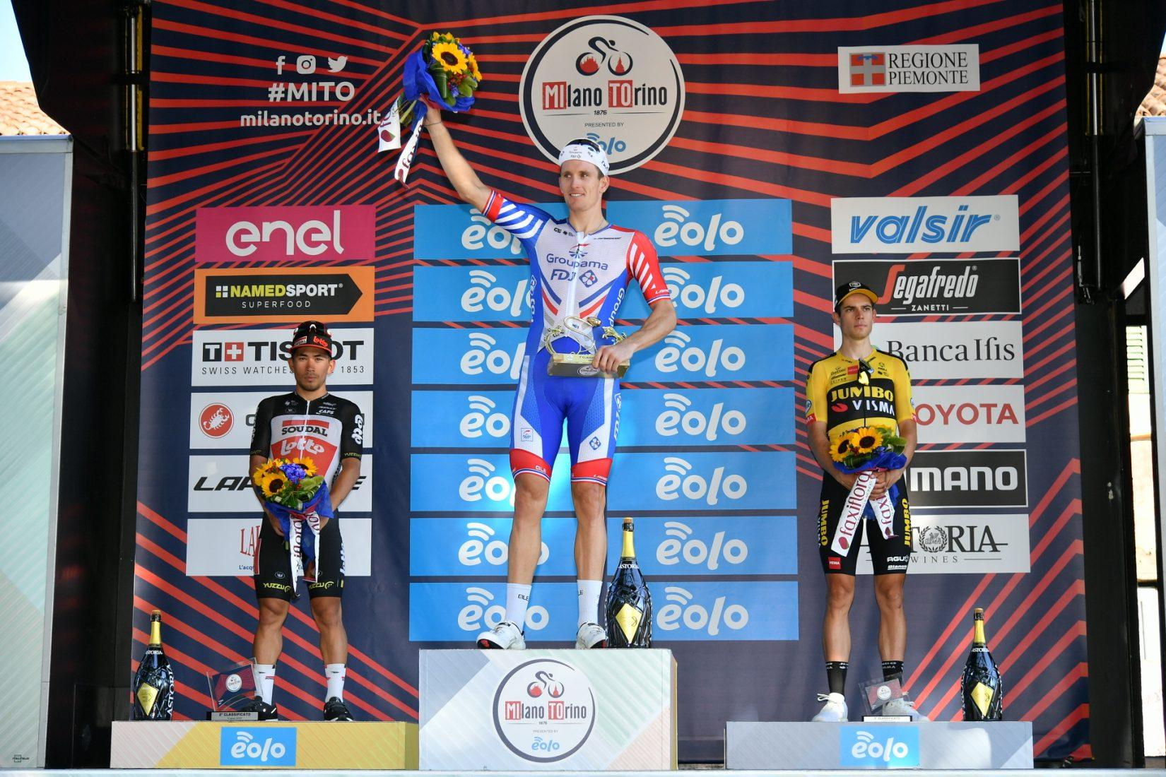 Ciclismo: Demare vince allo sprint la 101/a Milano-Torino