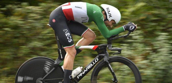 Filippo Ganna campione italiano a cronometro