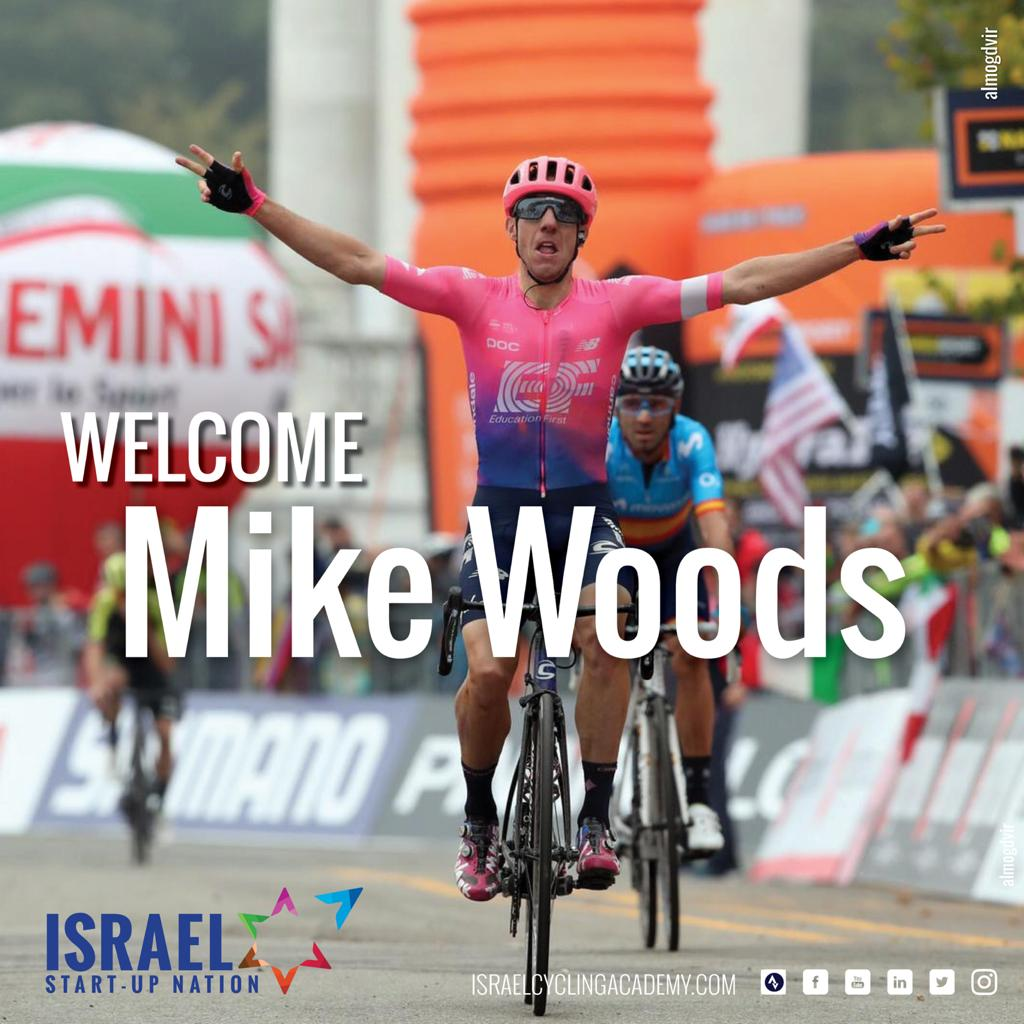 Ciclomercato: Michael Woods alla Israel Start-Up Nation