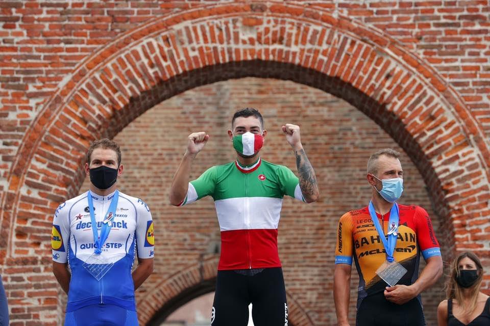 Giacomo Nizzolo è campione italiano per la seconda volta