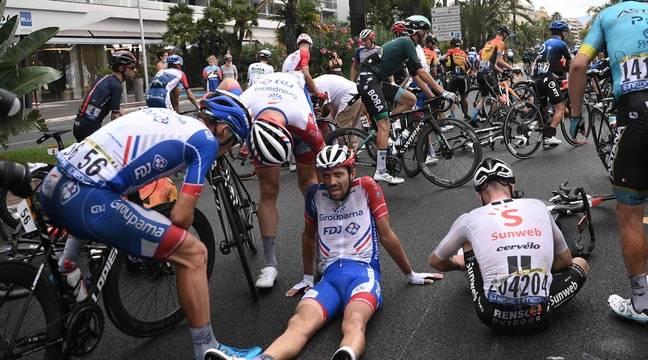 Il ghiaccio estivo del Tour ha fatto strage alla prima tappa