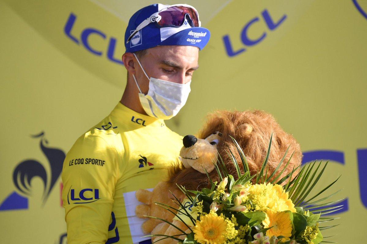 Tour 2020: Alaphilippe in giallo fa sognare la Francia