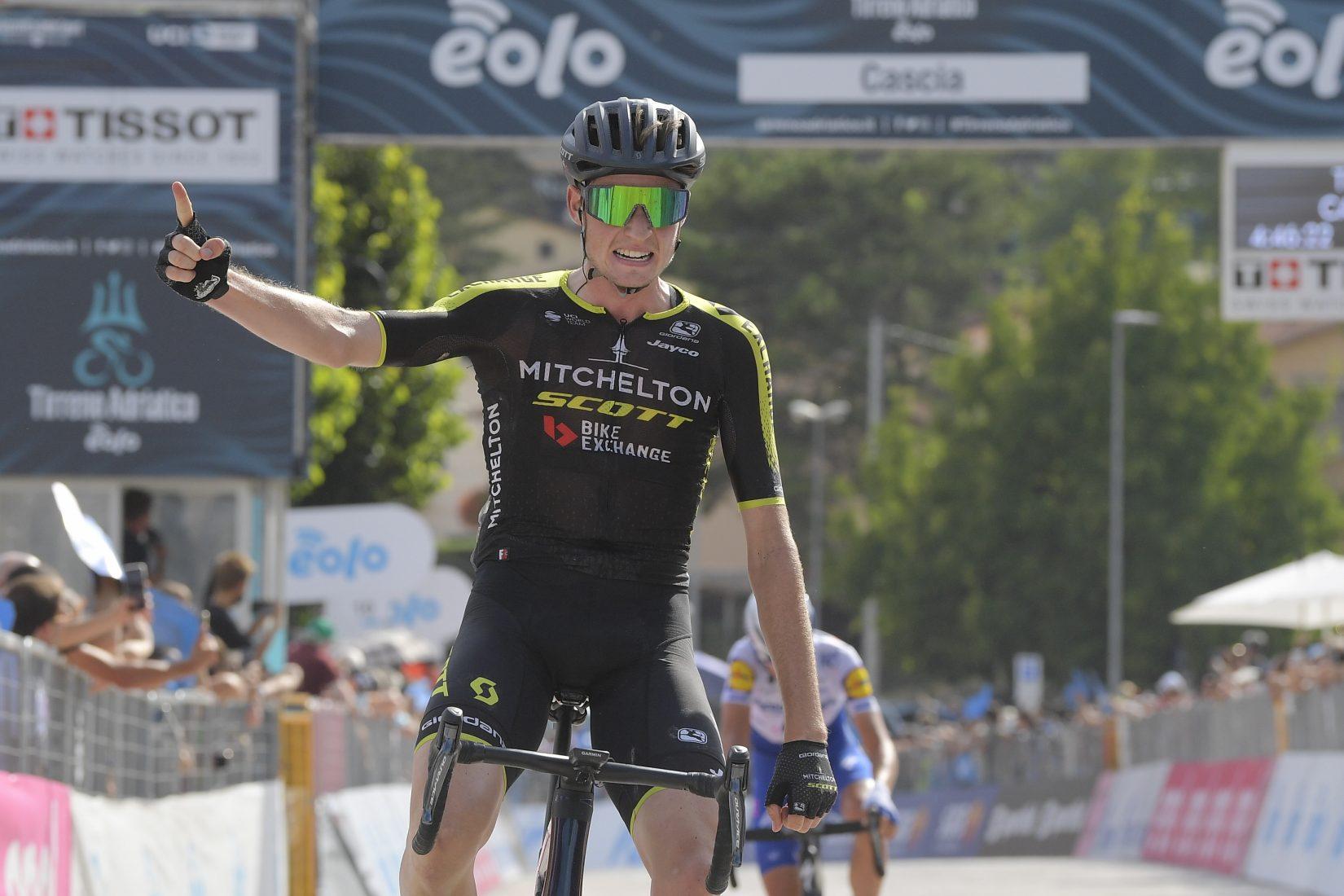 Tirreno-Adriatico 2020: Hamilton ha vinto la quarta tappa, Woods ancora in Maglia Azzurra