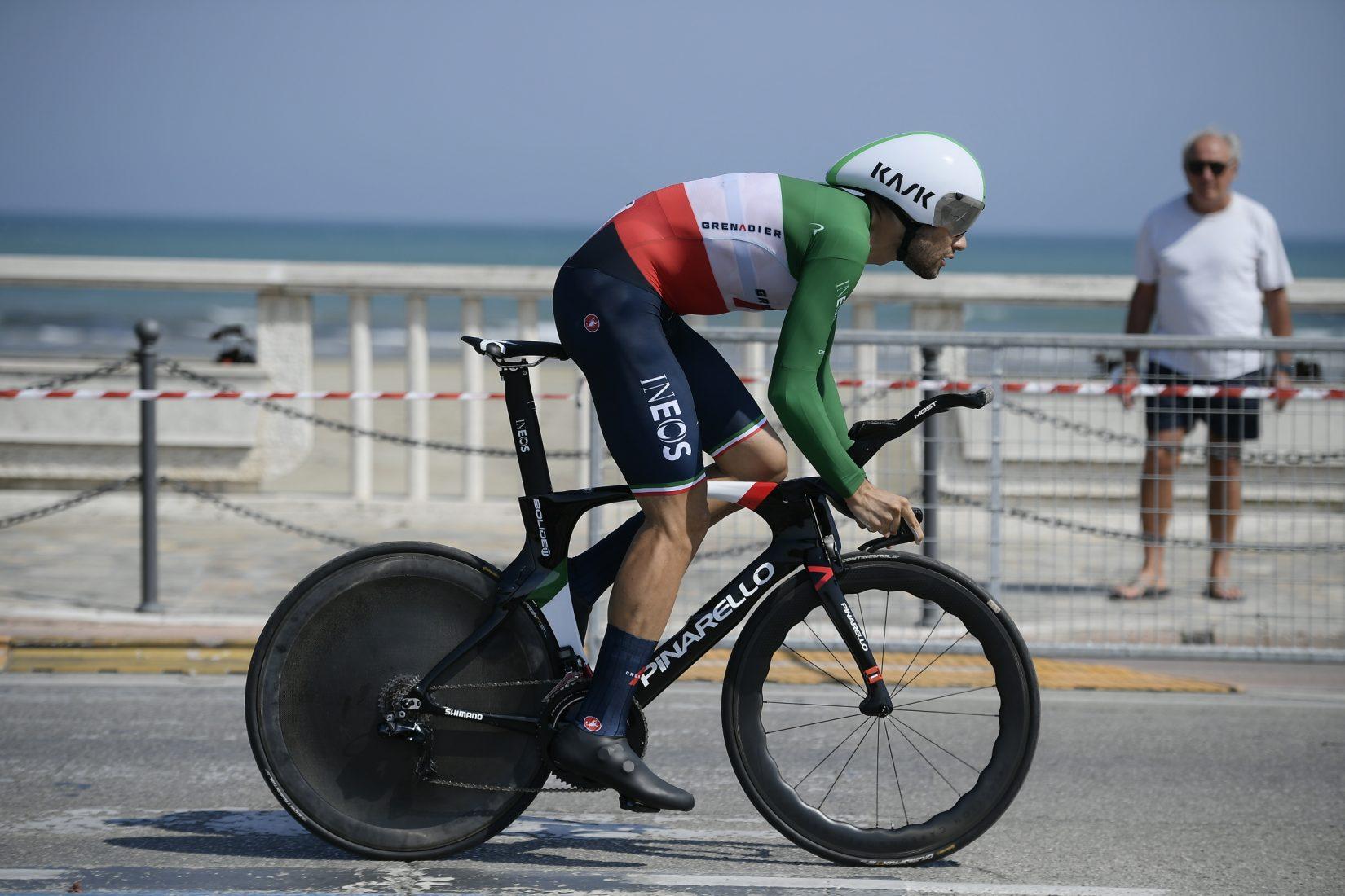 Le bici da crono della Tirreno-Adriatico