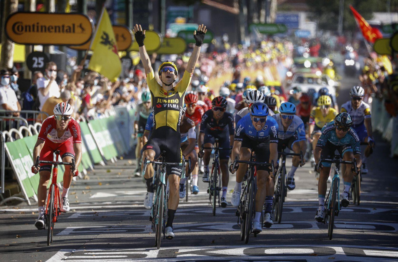 Tour 2020: Van Aert vince ancora. Pogačar perde la maglia bianca