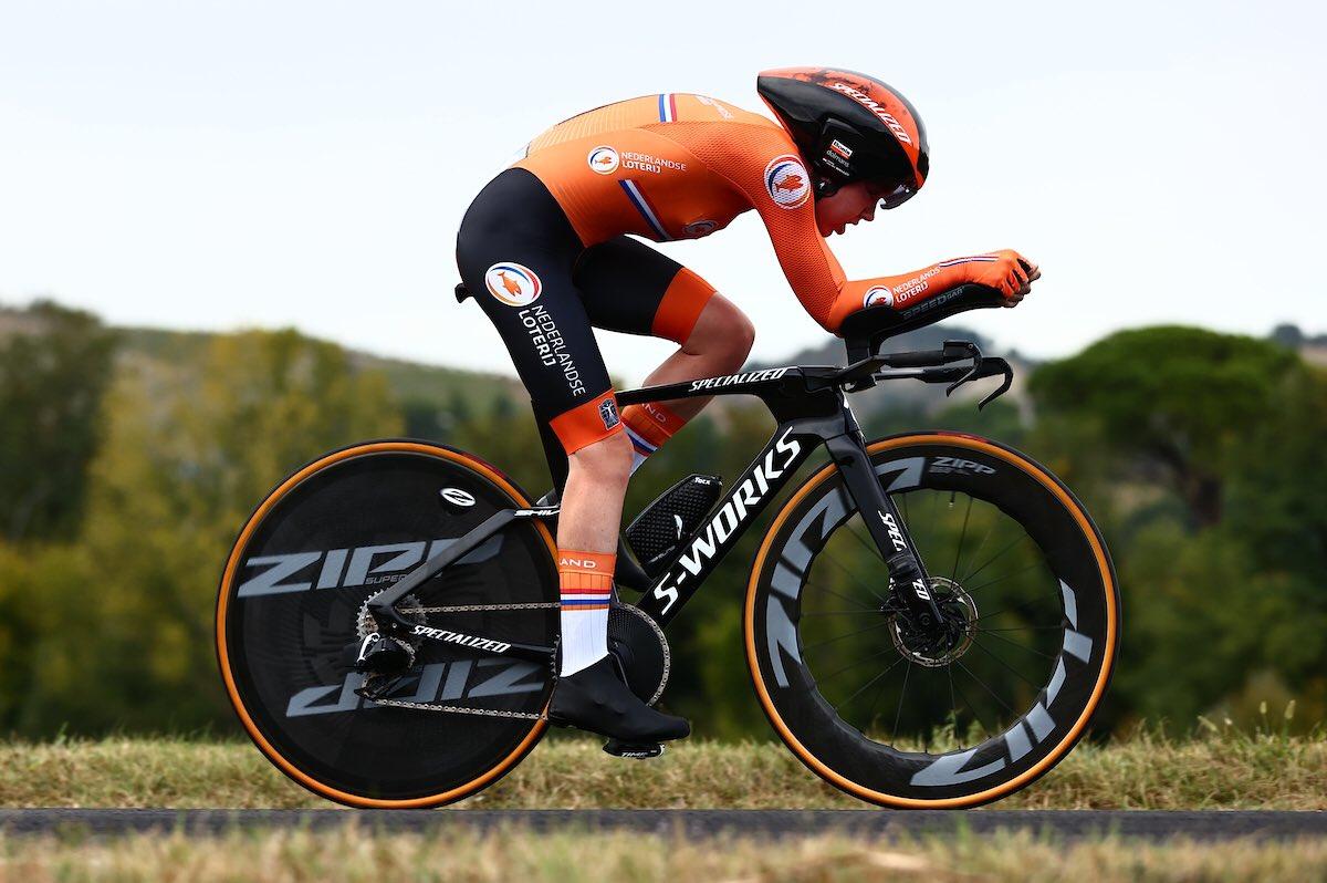 Campionati del mondo 2020: Anna van der Breggen ha vinto la cronometro