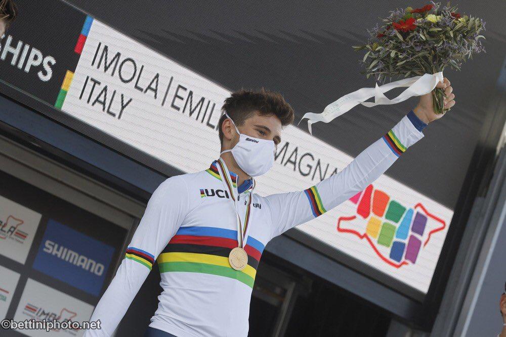 Campionati del mondo 2020: Filippo Ganna ha vinto la cronometro maschile