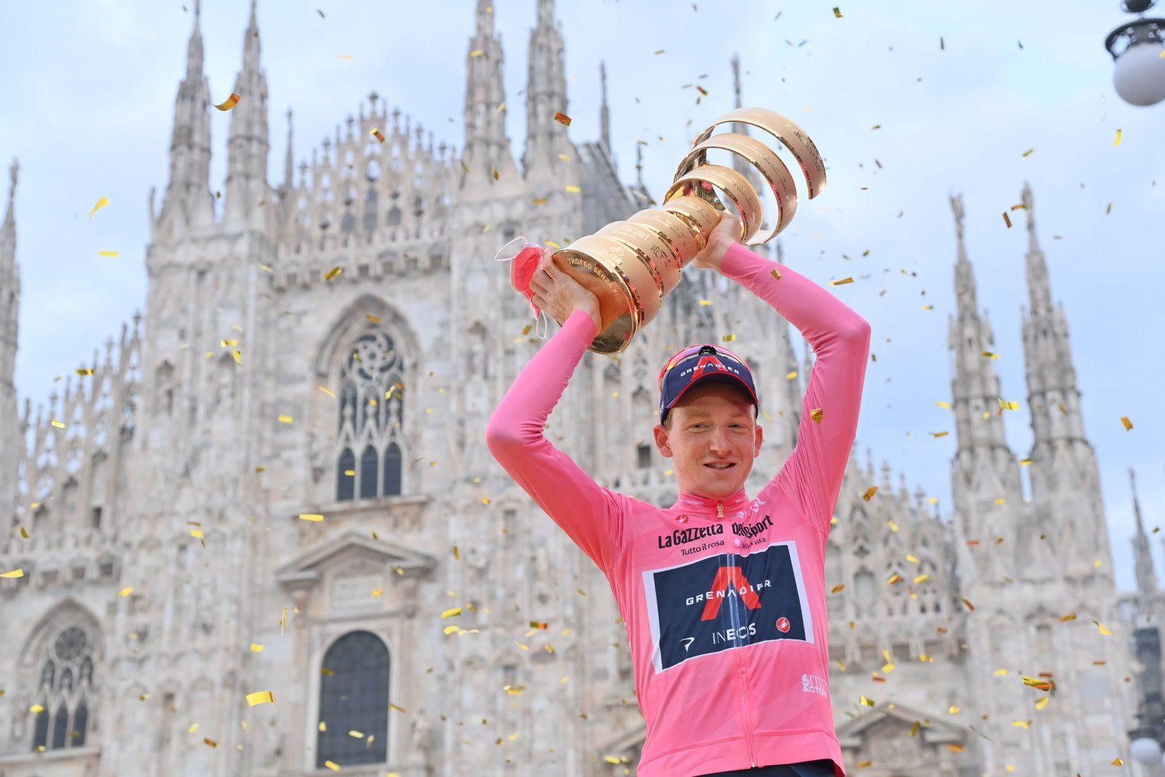 Tao Geoghegan Hart ha vinto il 103^ Giro d'Italia