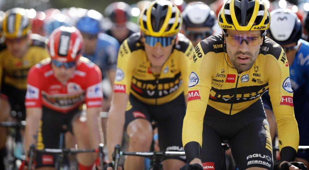 Tom Dumoulin abbandona la Vuelta per fatica