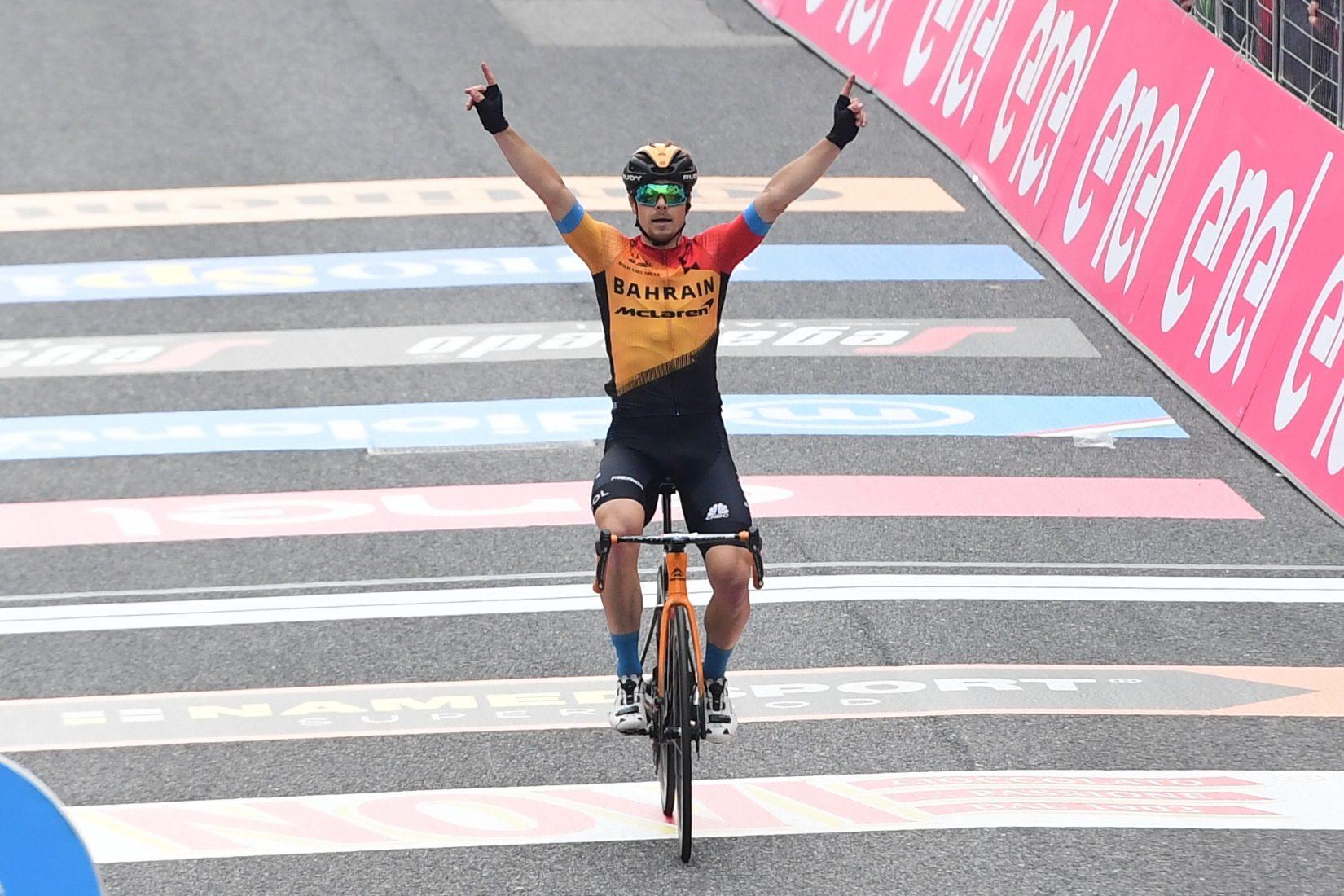 Giro 2020: vittoria di Tratnik a S.Daniele del Friuli