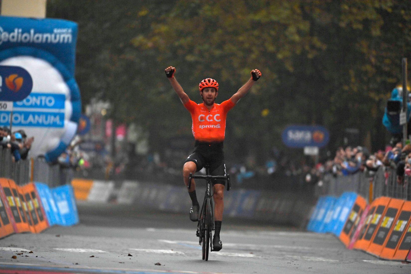 Giro 2020: Černý, fuga per la vittoria