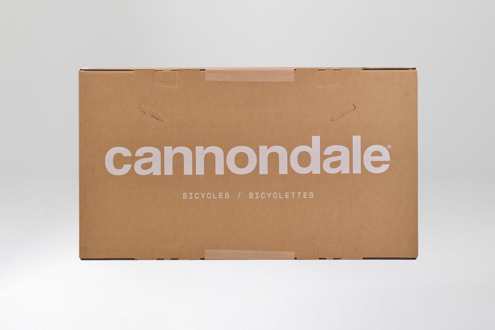 Imballaggi 100% riciclabili per le bici Cannondale