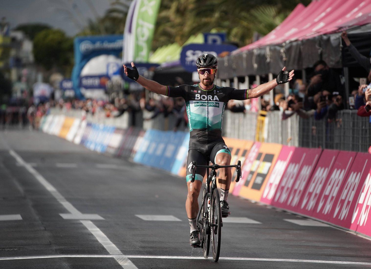 Giro 2020: Sagan, un arcobaleno sul Giro